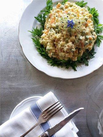 Bossolasco, Italië: La nostra buonissima Insalata Russa! (Our super tasty Insalata Russa!)