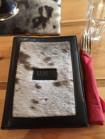Kroa: menu