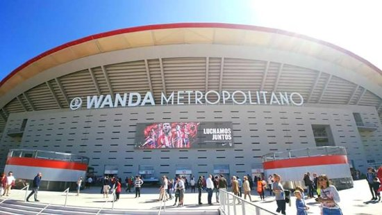 Image result for wanda metropolitano outside