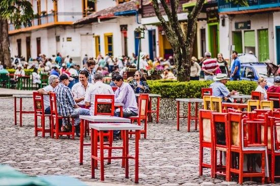 sillas en el parque picture of centro historico de