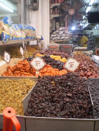Ramla, Israel: dried fruits.