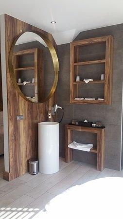 Open badkamer in de slaapkamer - Bild von Van der Valk Hotel ...