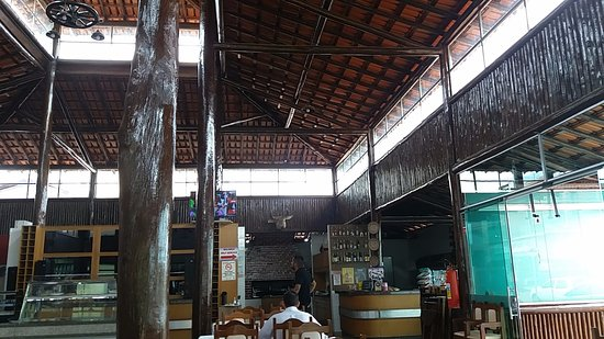 Taiobeiras, MG: Vista da churrascaria