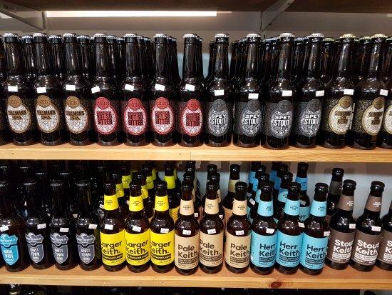 Callander, UK: Scottish Real Ale Shop