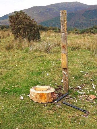 North Ballachulish, UK: He smashed it!