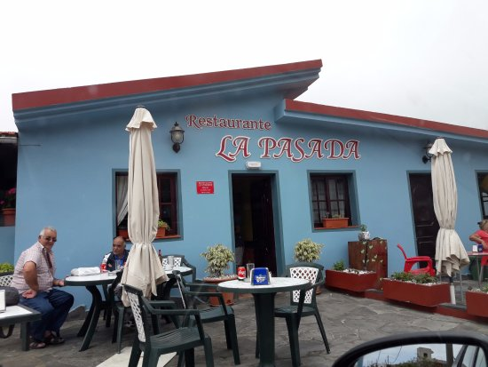 Guarazoca, Hiszpania: Exterior del restaurante
