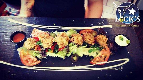 Ballyclare, UK: Garlic Mushroom Salad