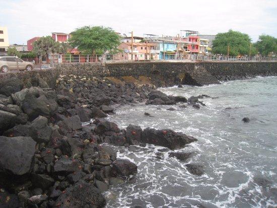 Puerto Baquerizo Moreno, Ecuador: Набережная Бокеризо Морено