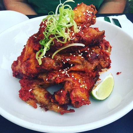 Rockford, MI: Korean Sticky Wings - medium