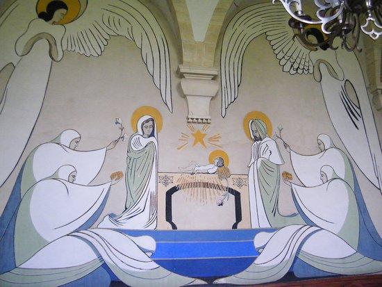 Juaye-Mondaye, Francia: Décoration salle du chapître