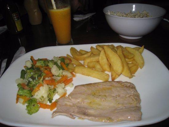 Puerto Baquerizo Moreno, Ecuador: Ужин