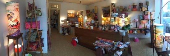 Amboise, France: Intérieur boutique L'Atelier de l'Abat-Jour