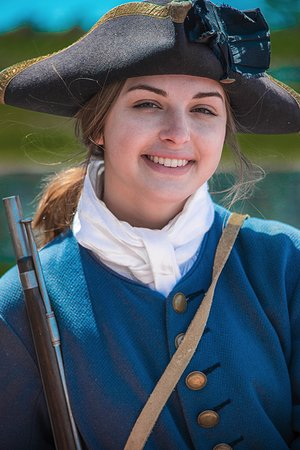 Louisbourg, Canada: Solder at the fortress (Sarah)