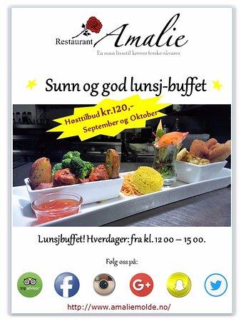 Μόλντε, Νορβηγία: Lunsj-tilbud