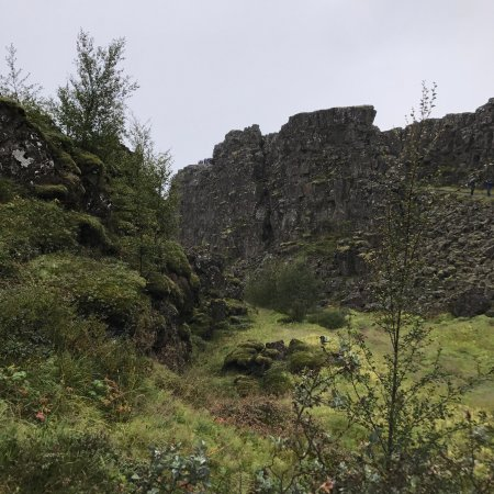 Thingvellir, Islândia: the wall