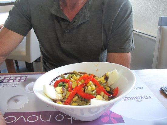 Petit déjeuner très copieux. - Picture of Hotel Inn Design Resto ...