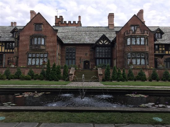 Back of Stan Hywet House, Akron, Ohio