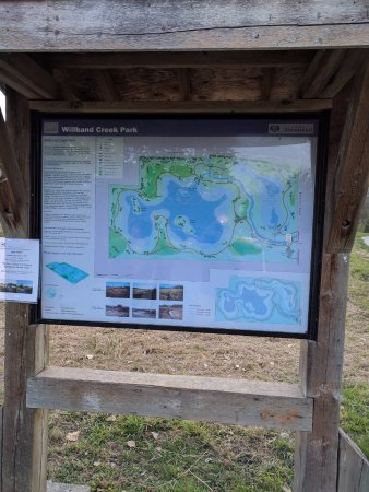 Abbotsford, Canada: Willband Creek Sign