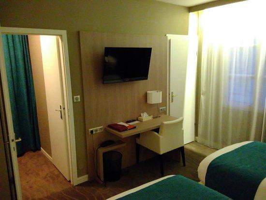 Hotel normandy vernon france voir les tarifs 78 avis for Chambre hotel normandie