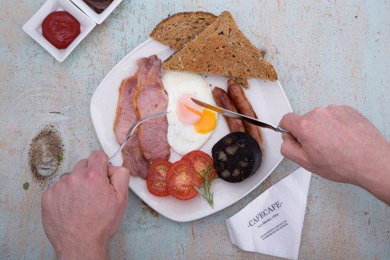 Otley, UK: Tuck into a freshly prepared breakfast