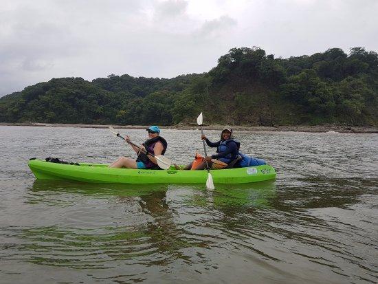 Playa Samara, Costa Rica: Kayaking with Bryan M. and Carrillo Adventures & Travel.