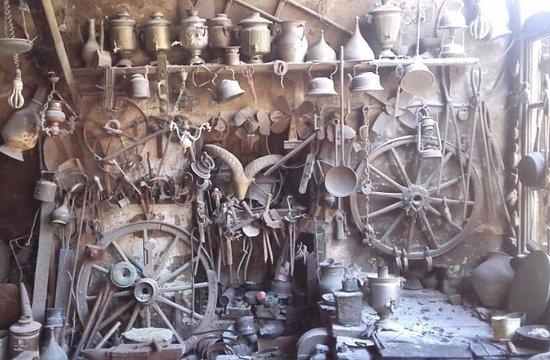 Lahich, Azerbejdżan: a workshop in Lahıc