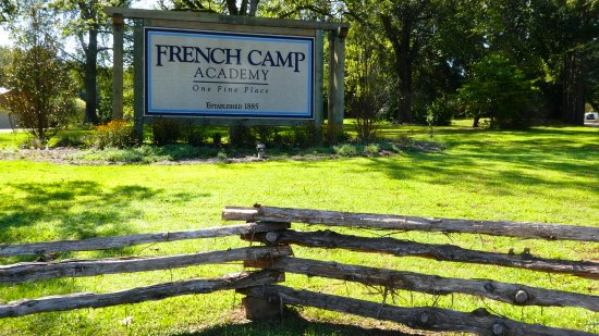 French Camp, MS: Note the tagline on the sign. Simple but so eloquently stated.