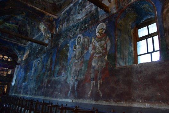 Moscopole, Albania: Zografi fresco's.