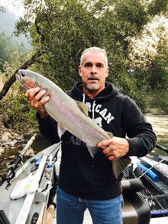 Pasco, WA: My Uncle George with a summer run steelhead