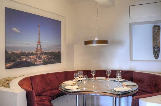 La Candelaria: Ambiente acogedor en algún restaurante...