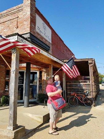 Aubrey, TX: outside ffront