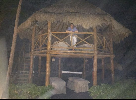 Ocean Maya Royale: Massage hut