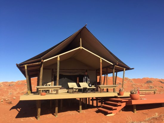 Wolwedans Dune Camp: Our tent