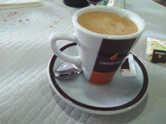 Villanueva de Gallego, Spain: Café cortado