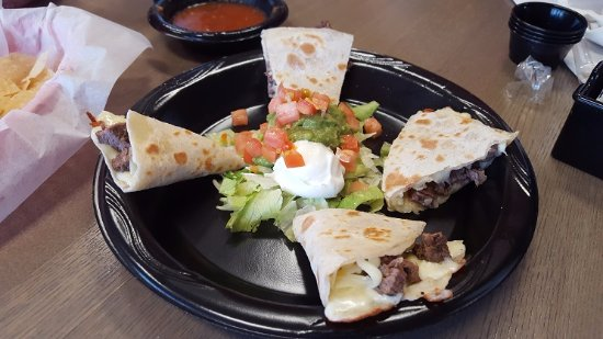 Katy, TX: Beef quesadillas for a pre- dinner warm up