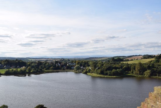 Linlithgow, UK: The view from the northwest tower