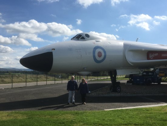 Stockport, UK: Avro Vulcan static display
