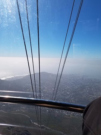 Table Mountain Aerial Cableway: going up