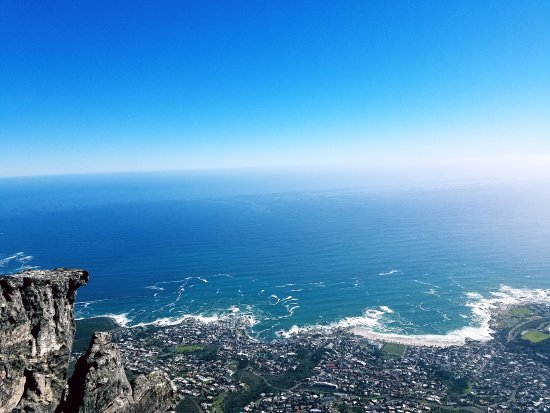 Table Mountain Aerial Cableway: nice view with clear sky