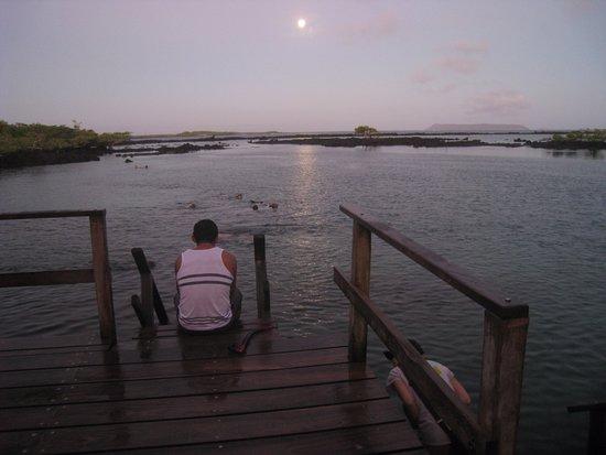 Concha de Perla: Вечернее купание в лагуне