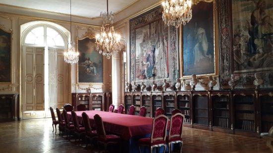 Palais de Rohan : Biblioteca del palacio.