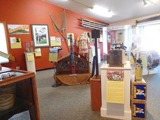 Haines, AK: interior of museum