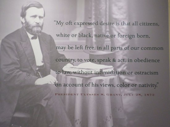 Ulysses S Grant Quotes | Ulysses S Grant Quote At The Entrance To The Visitors Center
