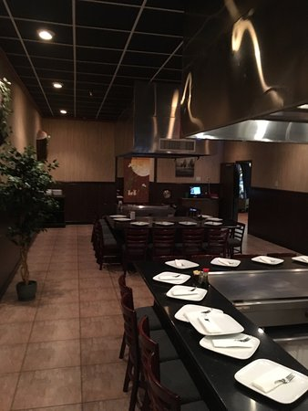 Griffin, GA: Hibachi area and hibachi steak meal.