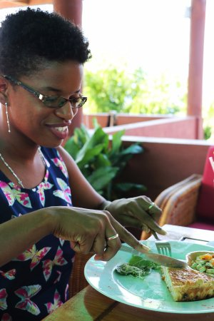 Crochu, Grenada: Not just dinner, but a great place for lunch.