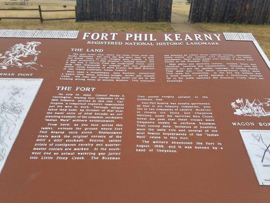 Sheridan, WY: Fort Kearny
