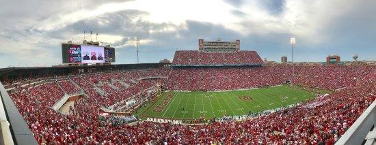 Norman, OK: Afternoon Panorama of Memorial Stadium