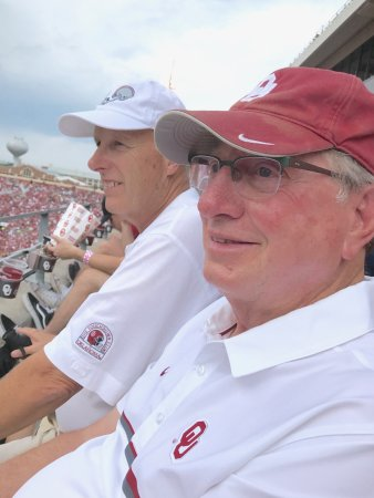 Norman, OK: Rick Knapp and Lonnie Childress