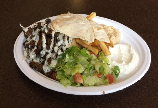 Lloydminster, Kanada: Beef Shawarma Platter