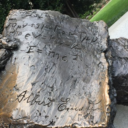 Albert Einstein Memorial: E=mc2